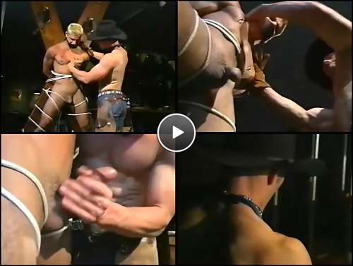 gay master bondage video