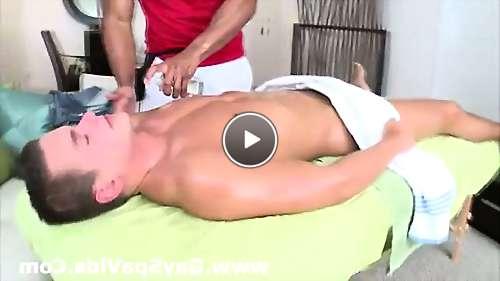 straight men getting gay massage video